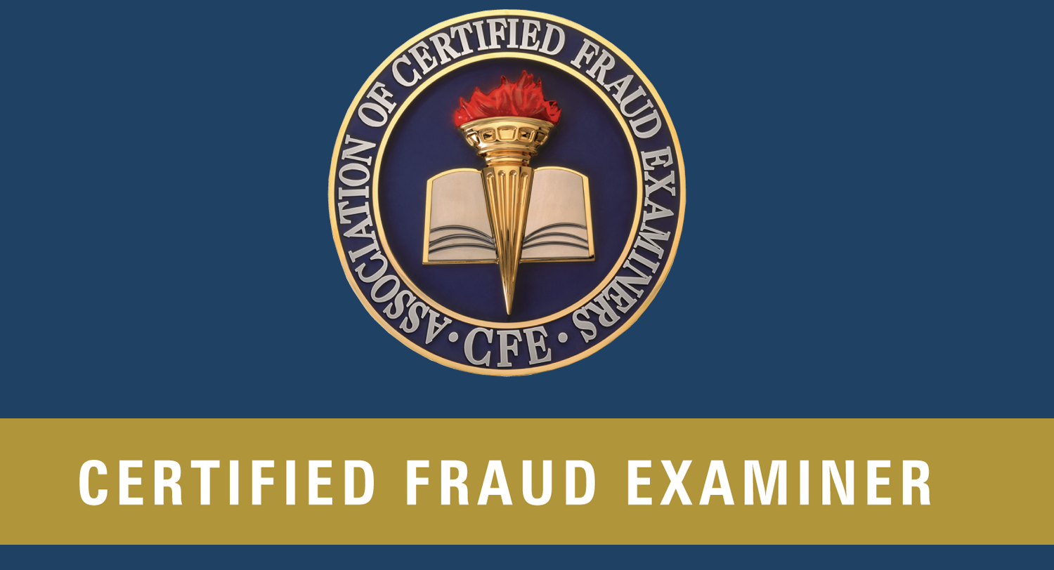 CFE: Certified Fraud Examiner (CFE)