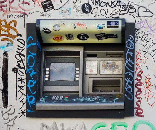 Beware of ATM skimming